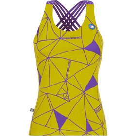 E9 Noa 19 Tank with integrated Bra Women, lime